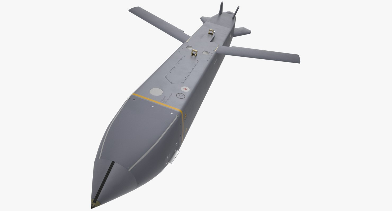 3D storm shadow scalp cruise missile model