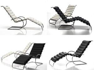 3D model mr chaiselongue