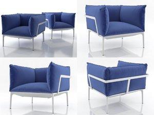 3D yale armchair