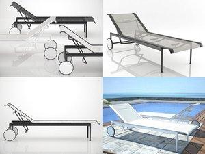 1966-42 chaise longue 3D model