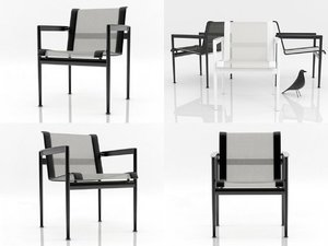 1966-45 dining chair 3D