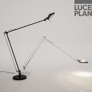 3D model luce plan