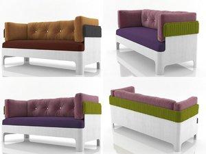 3D koja sofa