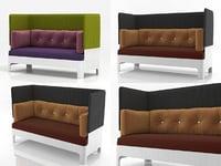 koja sofa 3D model