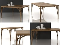 allumette tables 3D model