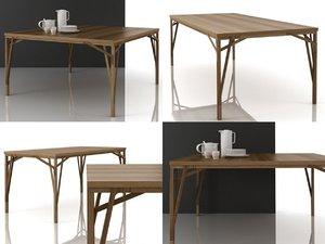 allumette tables 3D model