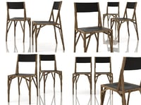 3D allumette chair