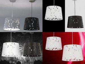 trama pendant lamp 3D model