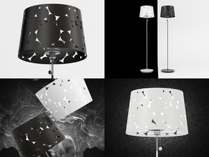 trama floor lamp model