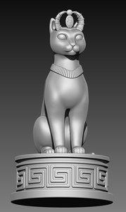 3D cat print
