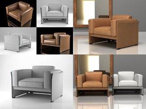 3D 405 duc armchair