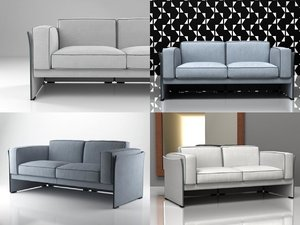 405 duc 2-seater sofa 3D