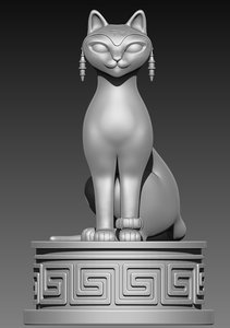 cat feline model