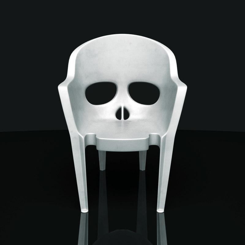 chair skull model