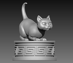 kitty print 3D
