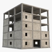 construction site 4 3D model