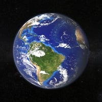 earth surface model