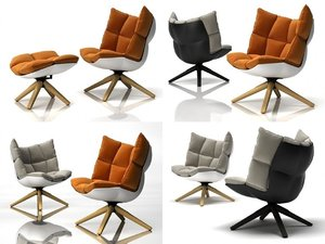 3D husk armchair