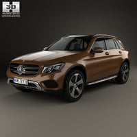 3D glc mercedes-benz glc-class model