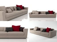 canyon sofa 3D model