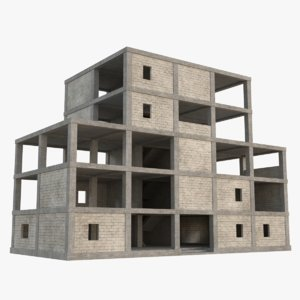 3D construction site 6 model