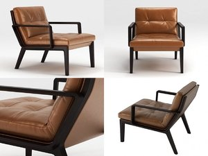 andoo lounge chair 3D model