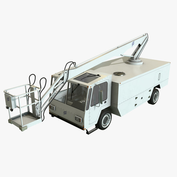 3D realistic deicer gss gs-700 model