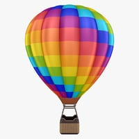 3D model hot air balloon 02