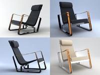 cite armchair 3D