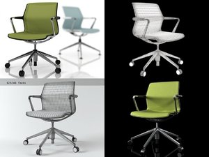 unix chair 5-legs 3D model