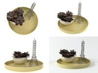 3D model love paris