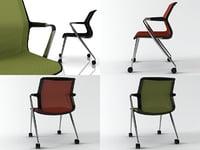 unix chair 4-legs 3D model
