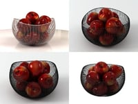 3D model red delicious