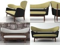 baker sofa 3D