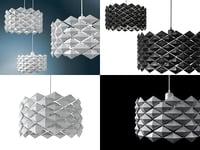 3D diamonds moltoluce model