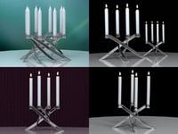 lightarch candle holder 3D