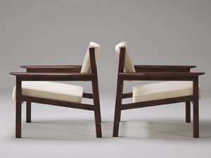 3D drummond armchair model