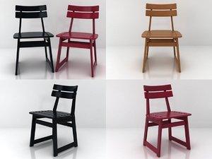 3D taja chair