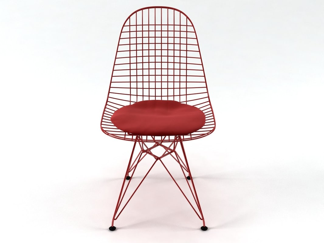 3D wire chair dkr