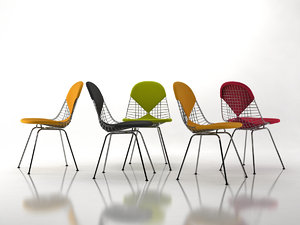 wire chair dkx 3D