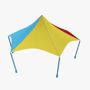 playground tent model