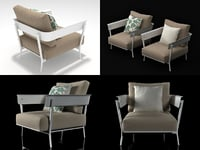 3D aikana garden armchair