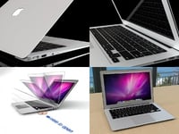 3D macbook air model