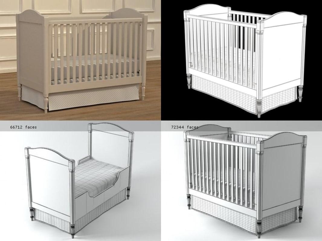 3D tate crib model
