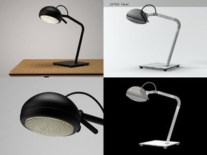 3D model stand table lamp