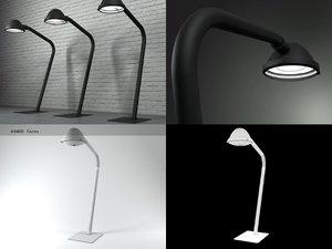 3D outsider floor lamp