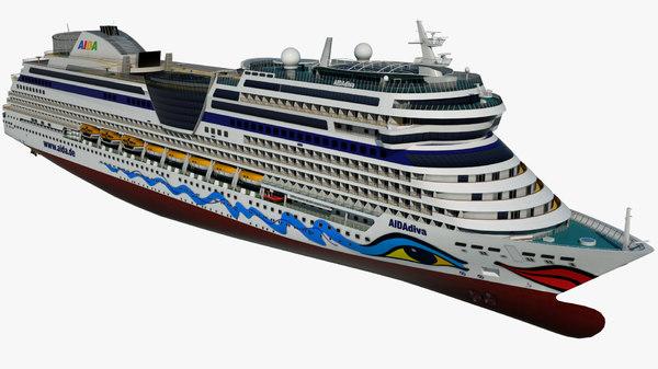 3D cruise ship
