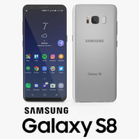 3D model samsung galaxy s8 arctic