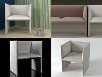 mono armchair model