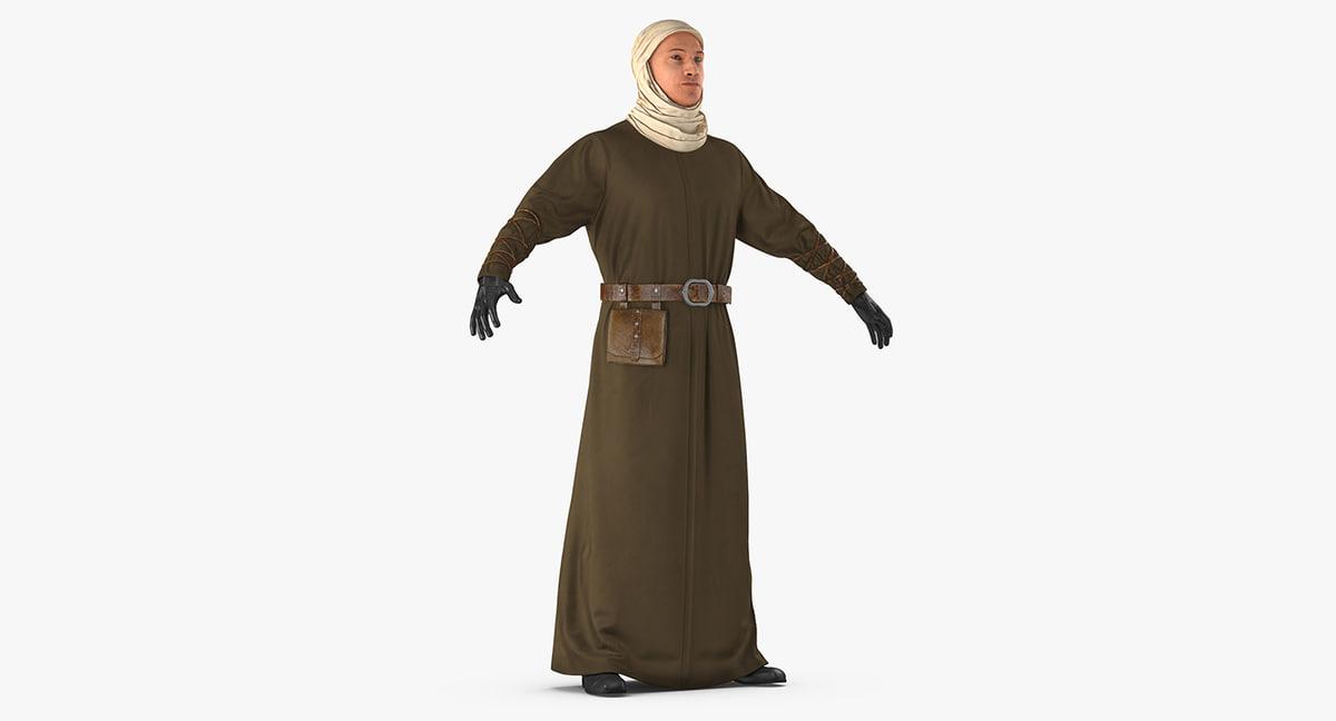 medieval man model